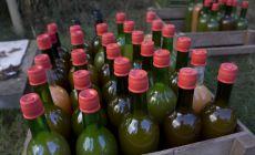 Organic apple juice made in Finland